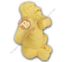 символ 2016 года - шоколадная обезьяна